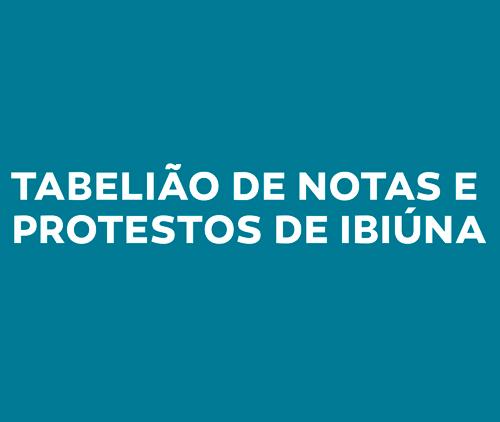 Tabelião de Notas e Protestos de Ibiúna