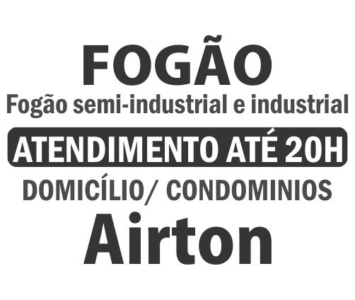 Fogão semi-industrial e industrial – Airton